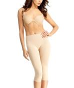 SlimMe By MeMoi Women's High Waisted Capri Legging Shapers
