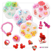 Hair Bands, Clips, Bracelet, Ring Many Different Colours and Designs UK