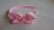 Alice Band With Bow Girls Ribbon Hair Band Headband