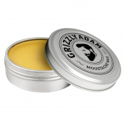 GRIZZLY ADAM Moustache Wax 15ml - Firm Hold - Ideal For Tash Twisters and Handlebars