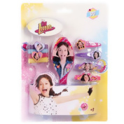 Soy Soy Luna Luna - Elastic gift set brush hair clips accessories Disney