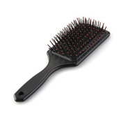 Large Professional Paddle Hairbrush Tangle Free Cushion Massage Comb Brush are great for all hair types and all ages