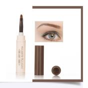 ROPALIA 5 Colours Waterproof Eyebrow Gel Cream With Brush