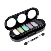 Eyeshadow Palette - M.N fashion 6 Colour Matte Pigment Eyeshadow Palette Cosmetic Makeup Eye Shadow for women£¨2#£©