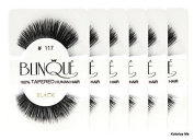 Blinque False Eyelashes 6 Pairs Eyelashes - (Same factory & production line as Red Cherry) (117) by Blinque