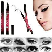 Internet Black Eyeliner Waterproof Liquid Make Up Beauty Comestics Eye Liner Pencil Pen