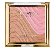 Catrice Cosmetics Sound of Silence C01 Desert Flower 9,95g Powder Blusher and Bronzer For A naturally radiant complexion. Rouge Blush & Bronzer