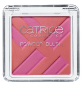 Catrice Cosmetics Graphic Grace C01 Structured Shapes Powder Blusher for a Naturally Radiant Complexion. Rouge Blush