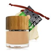 Zao Liquid Silk 710 Bamboo Container Certified Bio/Light Peach Beige Apricot Liquid Makeup Foundation - Vegan, Organic Cosmetics) Collection Etnik 2014 101710