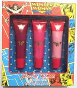 Wonder Woman Lip Gloss Trio Gift Set