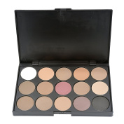 Snowsun- Professional 15 Colours Fashion Eyeshadow Makeup Cosmetic Palette