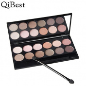 Fortan Qibest 12 Colours Cosmetic Makeup BlusherConcealer Eye shadow
