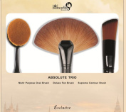 Absolute trio Make up brush set