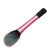 Pink Blush Brushes Foundation Makeup Brush Makeup Tools Set Flame Shape Brush Head
