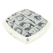 Stratton Compact Mirror Ladies Heritage Collection 3x Magnification Double Pocket Mirror