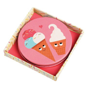 Ice Cream Friends Handbag Compact Mirror