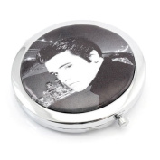 ELVIS PRESLEY COMPACT MIRROR MAKE UP HANDBAG COSMETIC TRAVEL GIFT BEAUTY POCKET