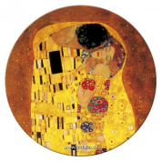 'Fridolin Metal 7.6cm Klimt The Kiss by Gustav Klimt Compact Mirror