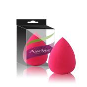 AmoVee Pro Makeup Sponge Latex-free Cosmetic Cream Foundation Powder Blush Teardrop Makeup Blender