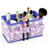 Lalang Makeup Cosmetic Storage Box Bag Organiser Foldable Makeup Stationary Container