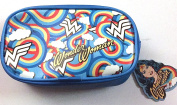 Wonder Woman Blue Mini Makeup Bag