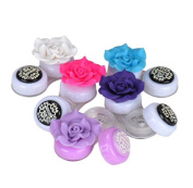 Ularma 1PC (Random Delivery) Flower Cute Lovely Travel Portable Contact Lens Lenses Container Case Holder Box