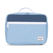 Herschel Cosmetic Case blue Chambray/Navy/White/Navy unica