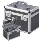 Beauty-case Make-Up Case aluminium silver with combinationlocks