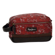 Pepe Jeans Pina Beauty Case, 23 cm, 4.14 Litres, Red