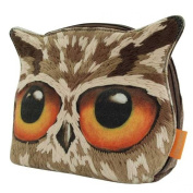 Santoro Book Owls - Canvas And Wool Owl Accessory Case