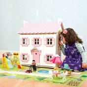 le toy van giant doll's house playmat 100cm x 150cm