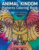 Animal Kingdom Patterns Coloring Book