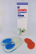 Gehwol Fusskraft® Blue for Dry Rough Skin Foot Cream Moisturising and Naturally Fresh 125ml Tube *PLUS FREE PAIR OF HEEL GEL PADS*