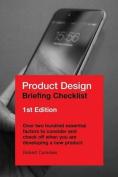 Product Design Briefing Checklist