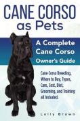 Cane Corso as Pets