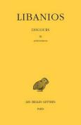 Libanios, Discours - Tome III