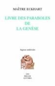 Paraboles de La Genese  [FRE]