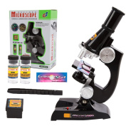 Kids Microscope, EgoEra® 100x 200x 450x Magnification Children Science Microscope Kit with LED Lights Includes Accessory Toy Set for Early Education