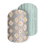 Jamberry Glittering Rain Full Sheet of Nail Wraps