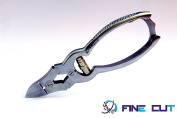 Fine Cut Professional Heavy Duty Stainless Steel Cantilever Toe Nail Clipper -Ideals for Thick Hand & Toenails