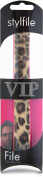 Stylfile® VIP Nail File Gift Pack Leopard Curved Make Filing Quick and Easy Makeup Invented for Beauty