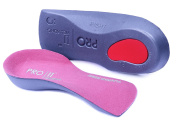 Pro11 wellbeing Slim fit arch support orthotic insoles for the treatment of plantar fasciitis