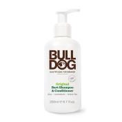 Bulldog Natural Skincare Original Beard Shampoo & Conditioner 240 g Pack of 1)