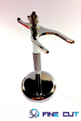 Fine Cut Men`s SHave Stand for Shaving rish and Safety Razor with Aluminium Alloy Shaving Holder