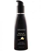 Wicked Aqua Lubricant Vanilla Bean 120ml