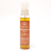 Beard Oil Organic 100ml - Softens, Moisturises and stimulates the Growth for a Nice Beard