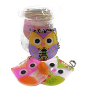 Cute Owl Acrylic Nail File Fun Novelty Gift Stocking Filler