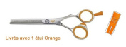 Hair Cut Hairdressing Thinning Scissors 14cm Orange
