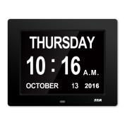 Dementia Day Clock,Perfect for Seniors,Digital Day Clock For Senile Dementia ,Alzheimer's Disease And Memo Loss People