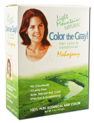 Pack of 1 x Light Mountain Colour The Grey-Mahogany - 210ml